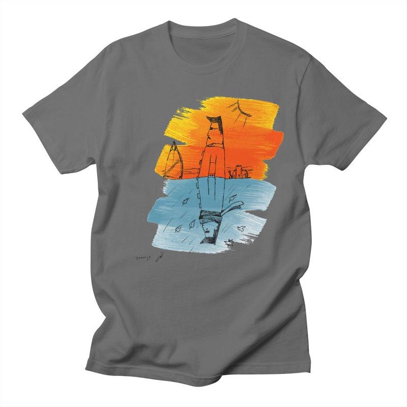Summer winter Men's T-Shirt by danmichaeli's Artist Shop