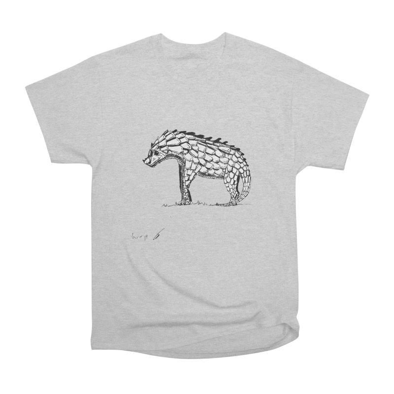 Armadillo with pangolin Men's T-Shirt by danmichaeli's Artist Shop