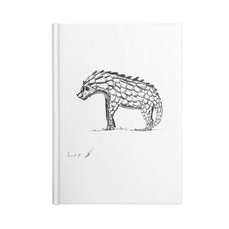 Armadillo with pangolin Accessories Notebook by danmichaeli's Artist Shop