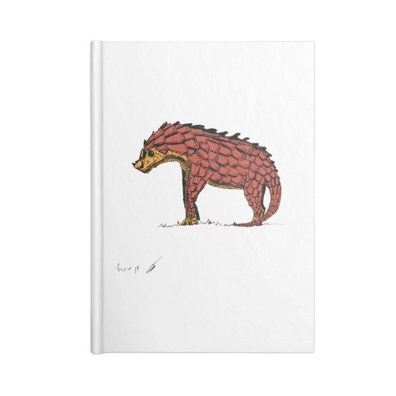 Armadillo pangolin Color Accessories Notebook by danmichaeli's Artist Shop