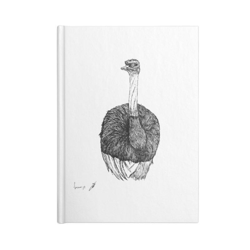 Ostrich Accessories Notebook by danmichaeli's Artist Shop