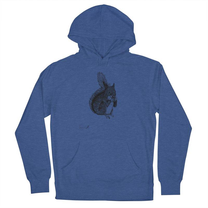 Squirrel Men's Pullover Hoody by danmichaeli's Artist Shop