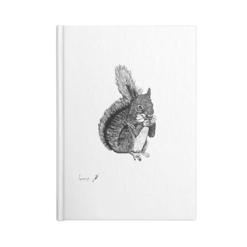 Squirrel Accessories Notebook by danmichaeli's Artist Shop