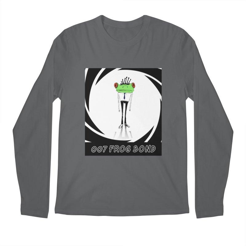 007 Frog Bond Men's Longsleeve T-Shirt by danmichaeli's Artist Shop