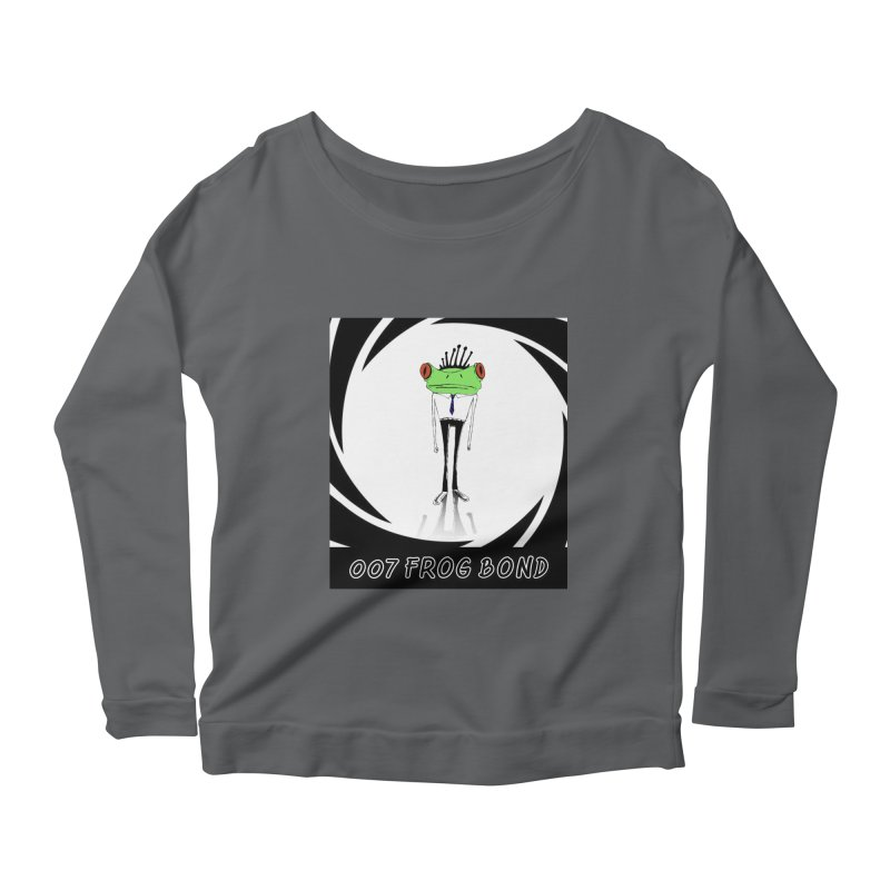 007 Frog Bond Women's Longsleeve T-Shirt by danmichaeli's Artist Shop