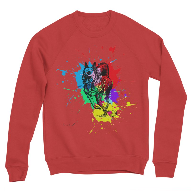 3 leg dog Women's Sweatshirt by danmichaeli's Artist Shop
