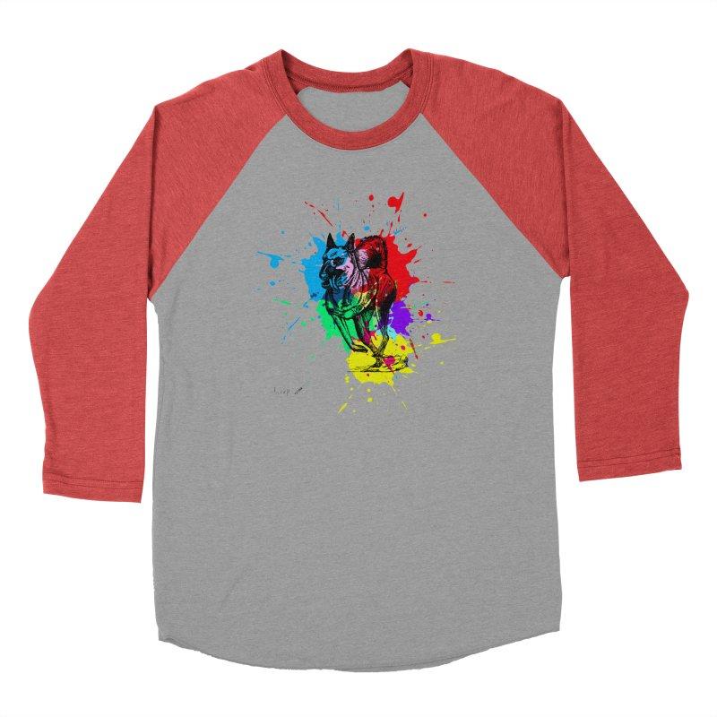 3 leg dog Men's Longsleeve T-Shirt by danmichaeli's Artist Shop