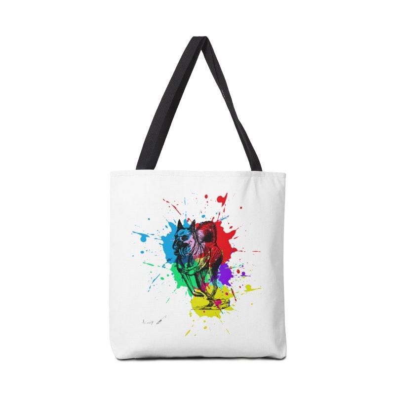 3 leg dog Accessories Bag by danmichaeli's Artist Shop
