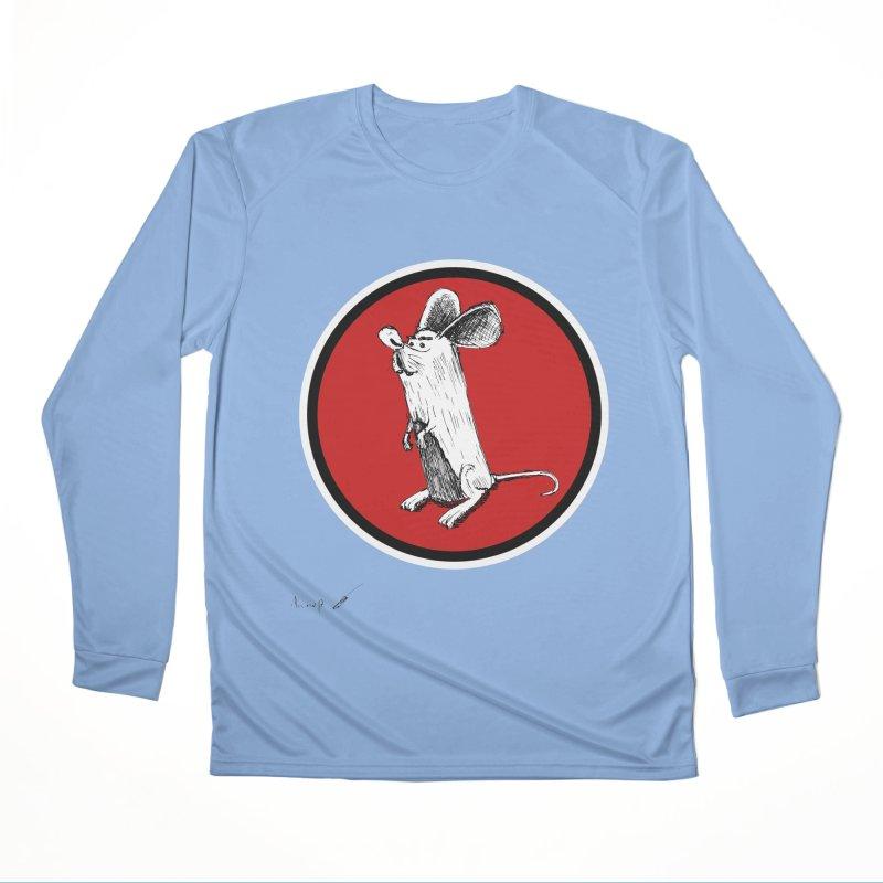 Mouse Men's Longsleeve T-Shirt by danmichaeli's Artist Shop