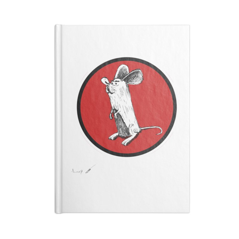Mouse Accessories Notebook by danmichaeli's Artist Shop