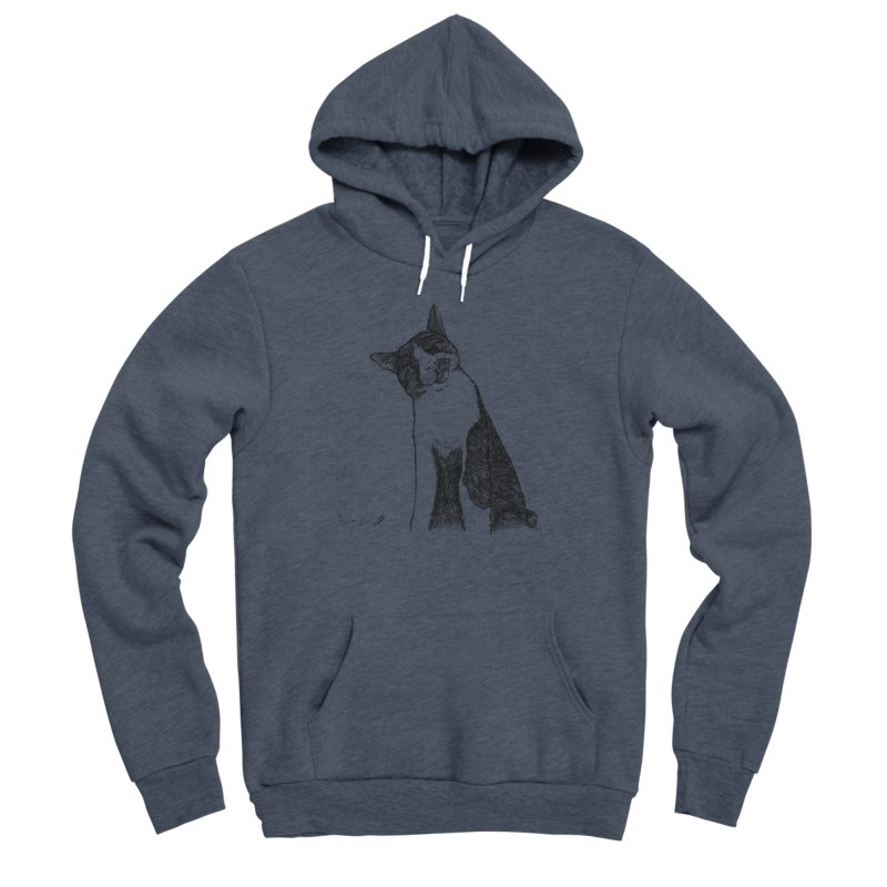 Cat Clear Men's Pullover Hoody by danmichaeli's Artist Shop