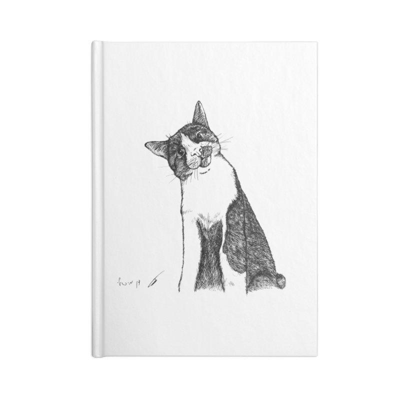 Cat Clear Accessories Notebook by danmichaeli's Artist Shop