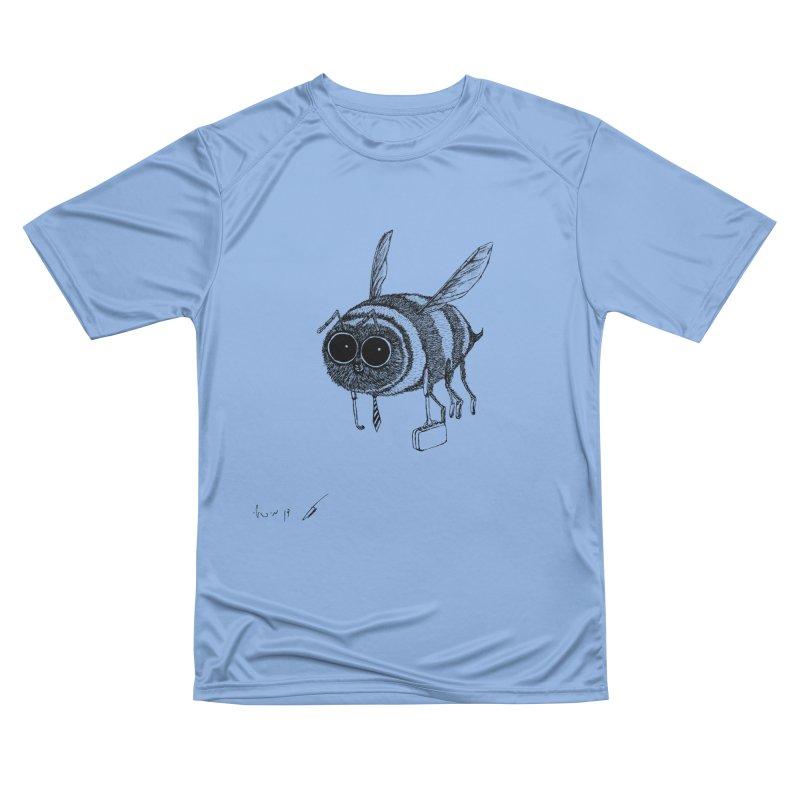 Busy bee gray Women's T-Shirt by danmichaeli's Artist Shop