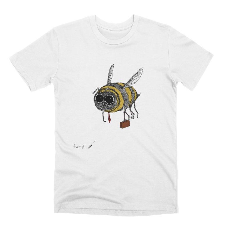 Busy bee colored Men's T-Shirt by danmichaeli's Artist Shop