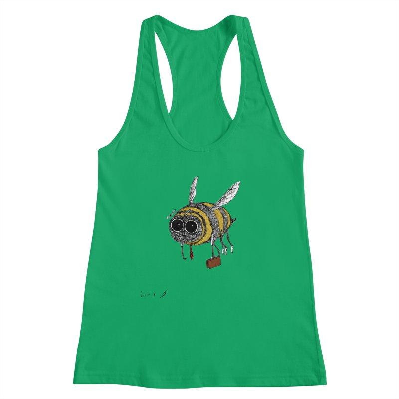 Busy bee colored Women's Tank by danmichaeli's Artist Shop