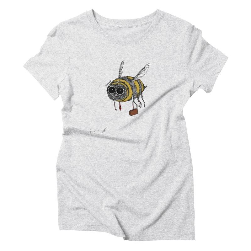 Busy bee colored Women's T-Shirt by danmichaeli's Artist Shop