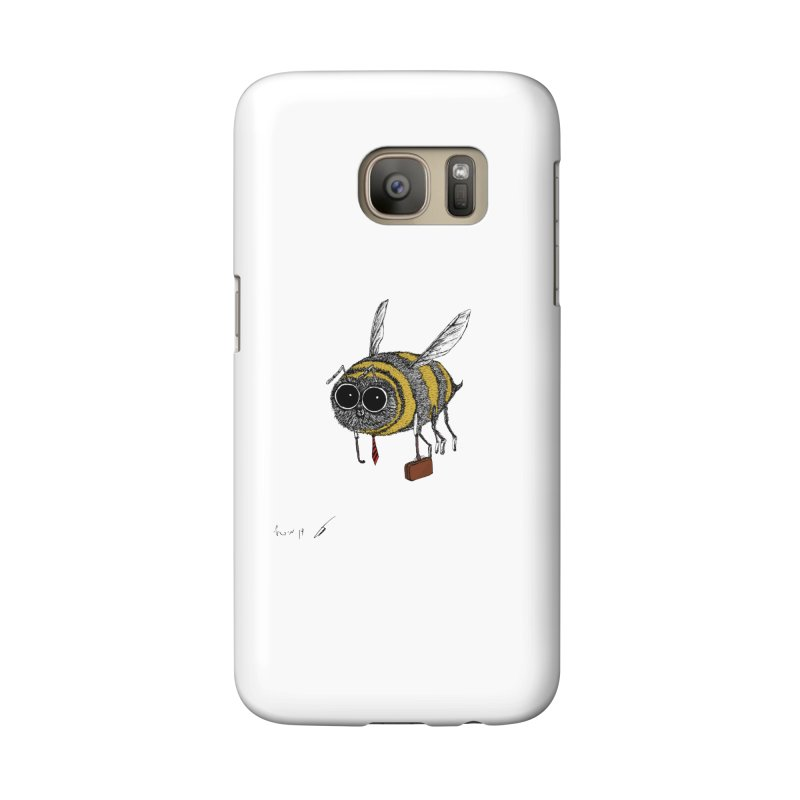 Busy bee colored Accessories Phone Case by danmichaeli's Artist Shop