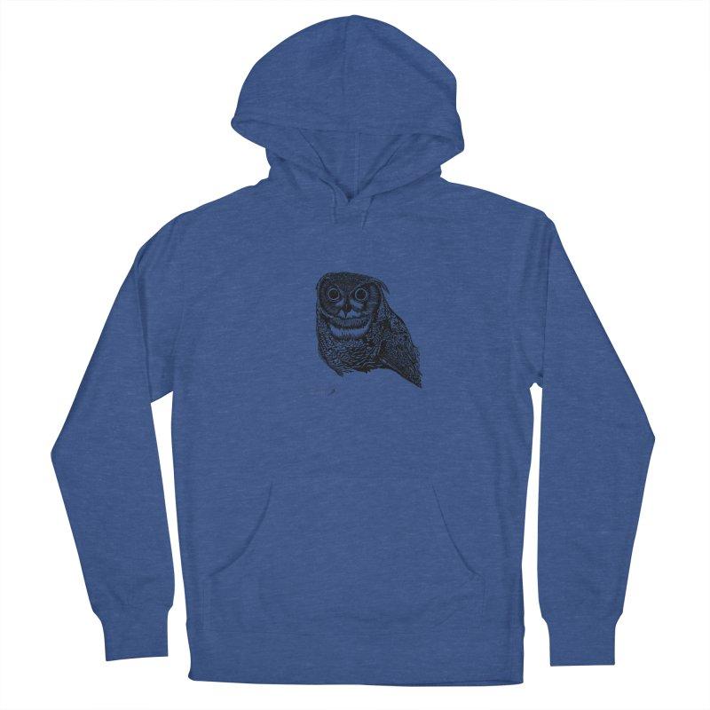 Owl Men's Pullover Hoody by danmichaeli's Artist Shop
