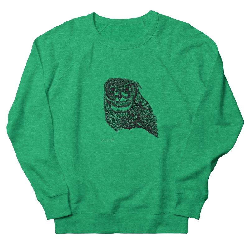 Owl Women's Sweatshirt by danmichaeli's Artist Shop
