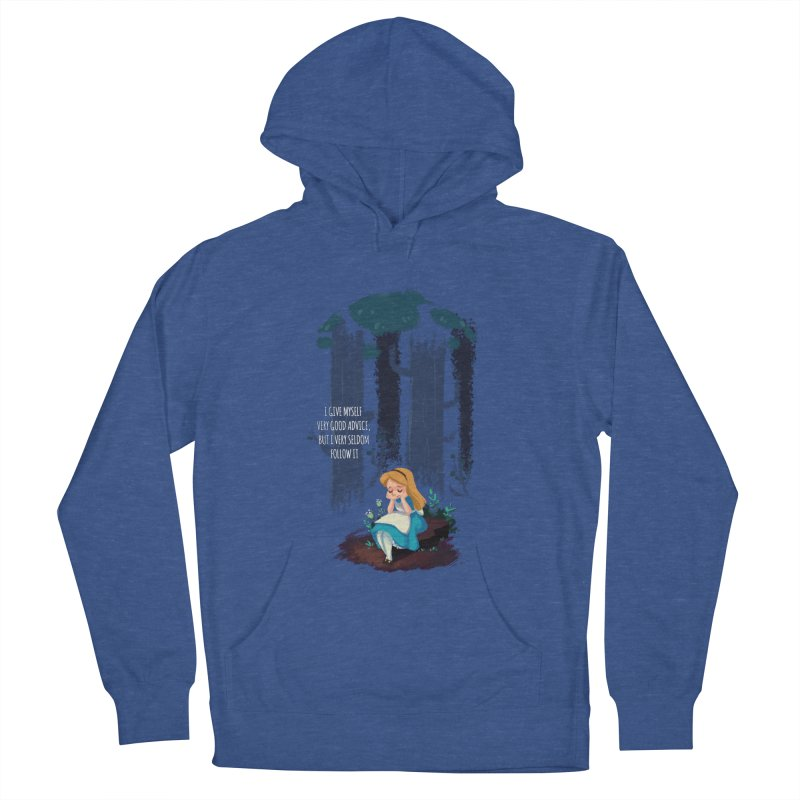 Alice's Advice Women's French Terry Pullover Hoody by dannisketch's Artist Shop