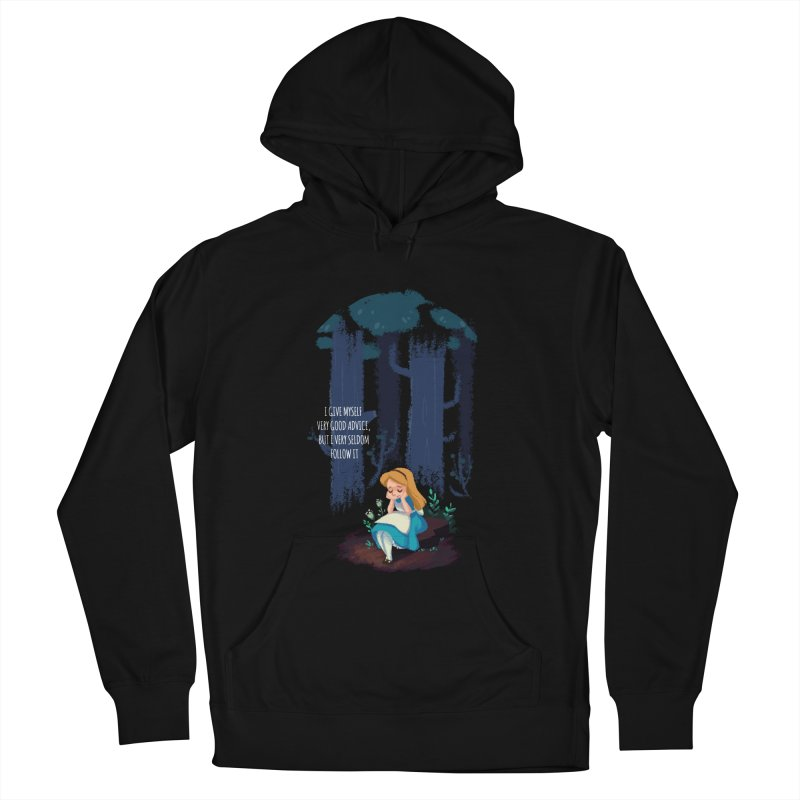 Alice's Advice Men's Pullover Hoody by dannisketch's Artist Shop