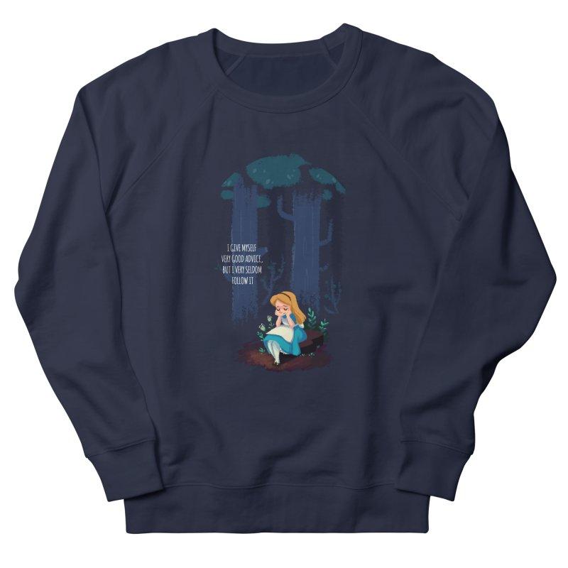 Alice's Advice Women's Sweatshirt by dannisketch's Artist Shop
