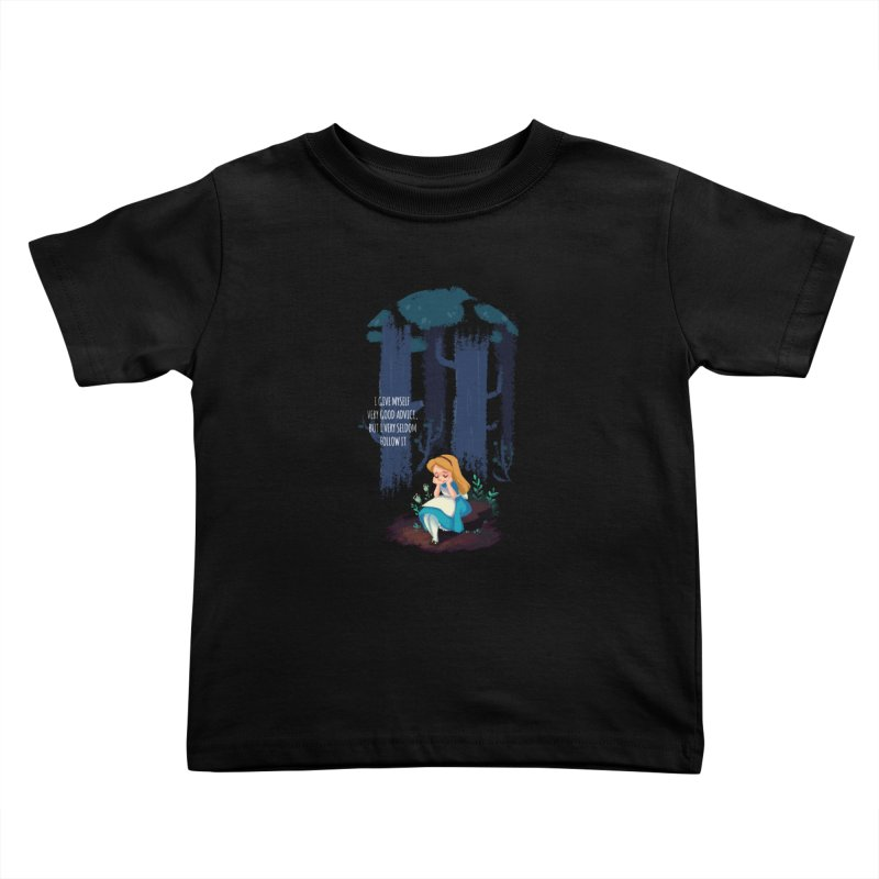Alice's Advice Kids Toddler T-Shirt by dannisketch's Artist Shop