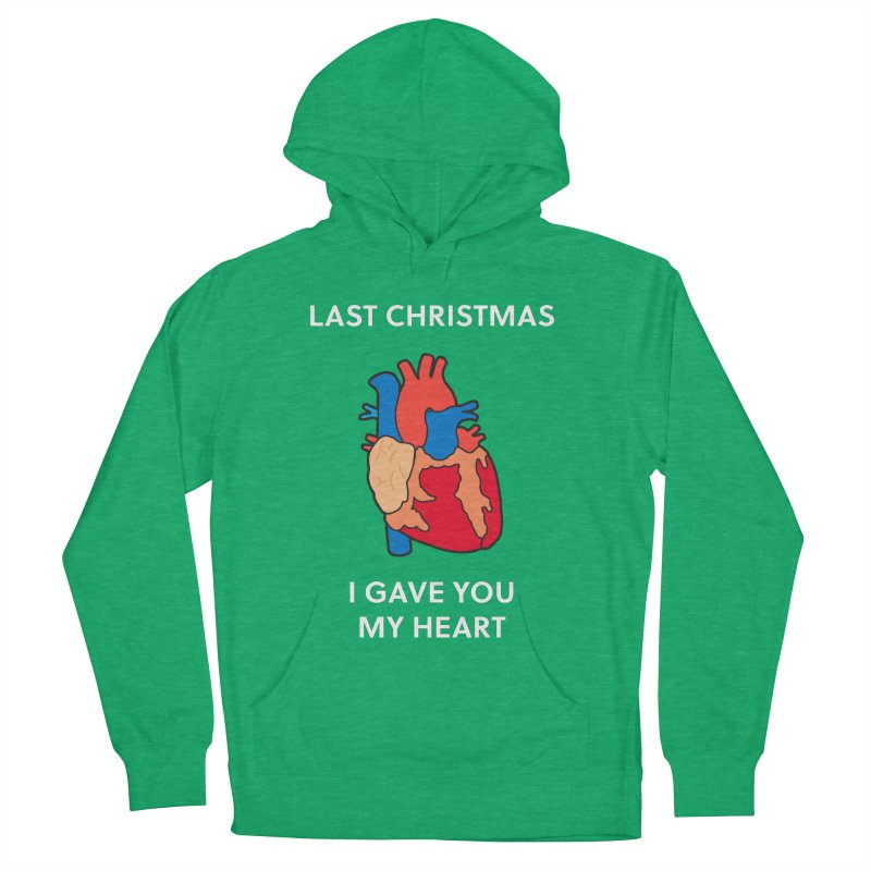Last Christmas, I gave you my heart. Men's Pullover Hoody by Dannomyte's Artist Shop
