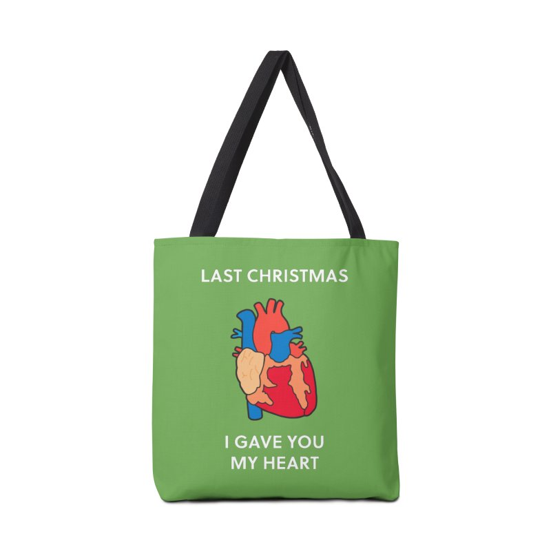 Last Christmas, I gave you my heart. Accessories Bag by Dannomyte's Artist Shop