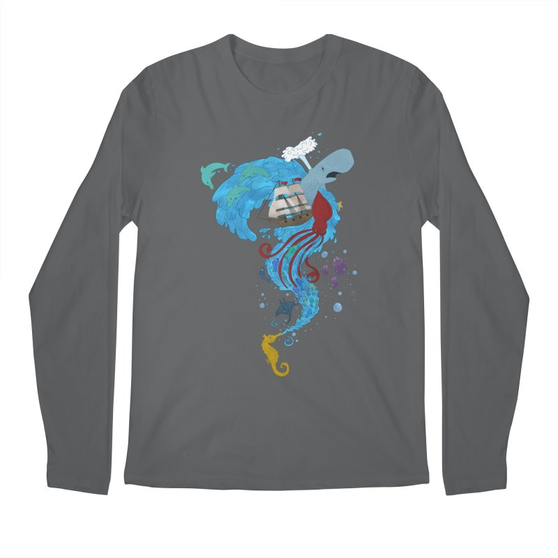 Seaside Men's Longsleeve T-Shirt by Dannomyte's Artist Shop