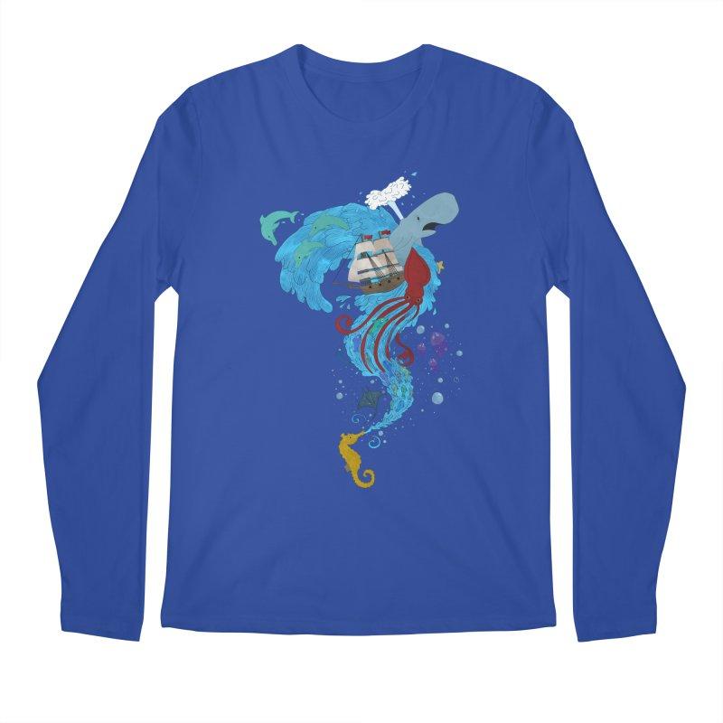 Seaside Men's Longsleeve T-Shirt by Dannomyte's Artist Shop