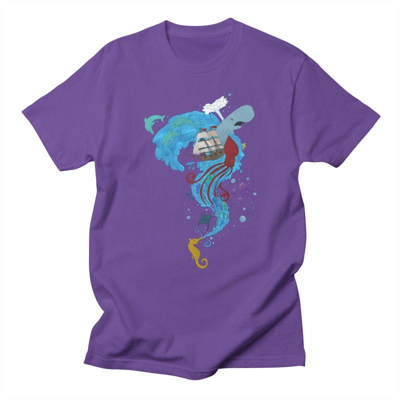 Seaside Women's Unisex T-Shirt by Dannomyte's Artist Shop