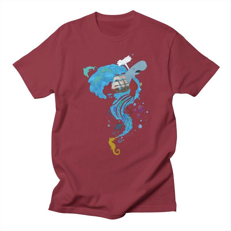 Seaside Men's T-shirt by Dannomyte's Artist Shop