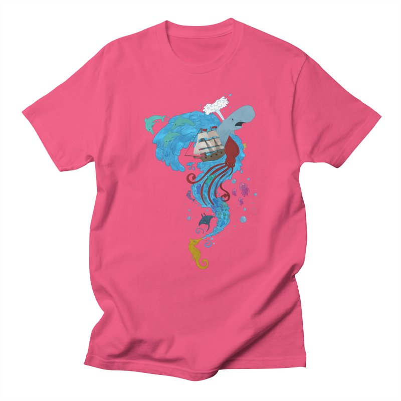 Seaside Women's Unisex T-Shirt by Dannomyte's Artist Shop