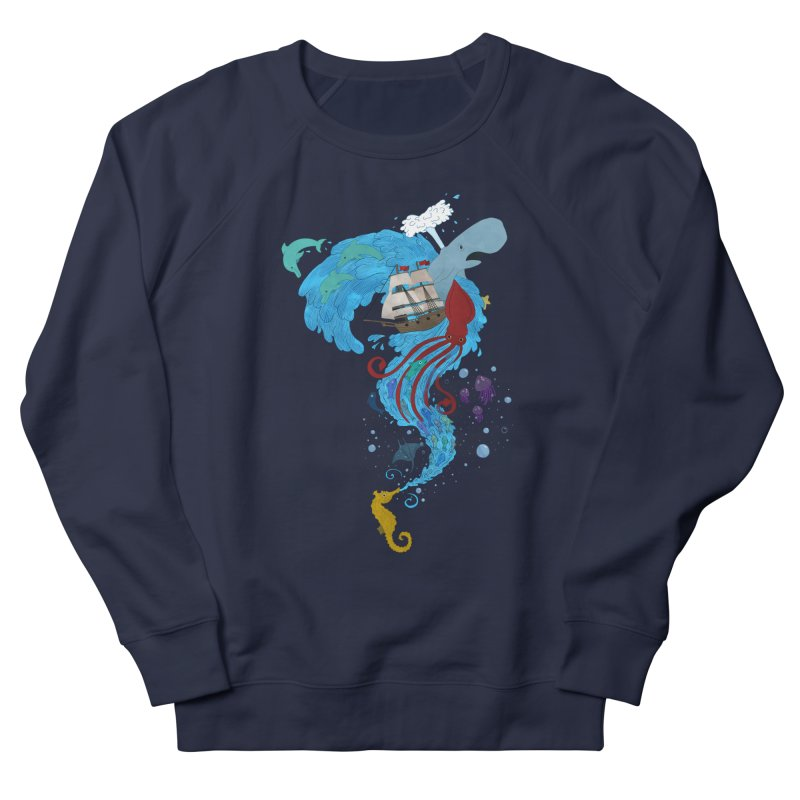 Seaside Men's Sweatshirt by Dannomyte's Artist Shop