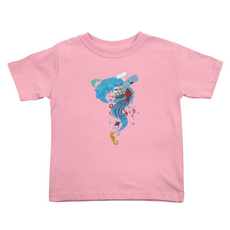 Seaside Kids Toddler T-Shirt by Dannomyte's Artist Shop