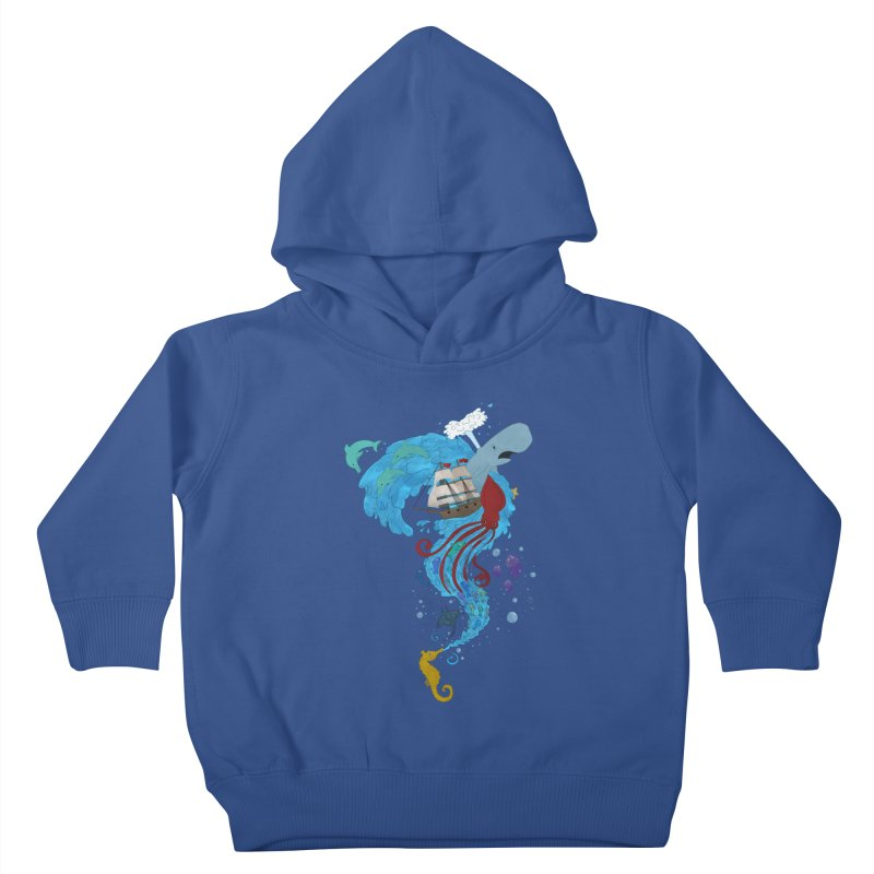 Seaside Kids Toddler Pullover Hoody by Dannomyte's Artist Shop
