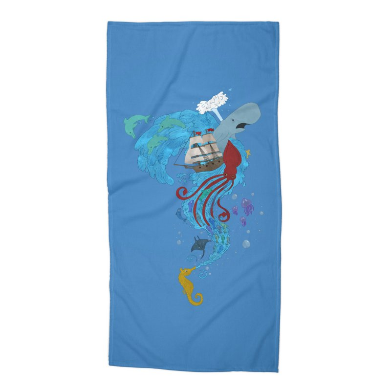 Seaside Accessories Beach Towel by Dannomyte's Artist Shop