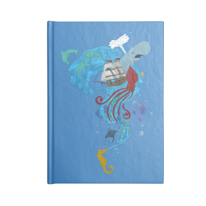 Seaside Accessories Notebook by Dannomyte's Artist Shop