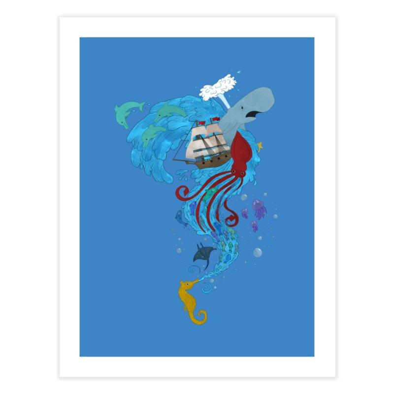 Seaside Home Fine Art Print by Dannomyte's Artist Shop