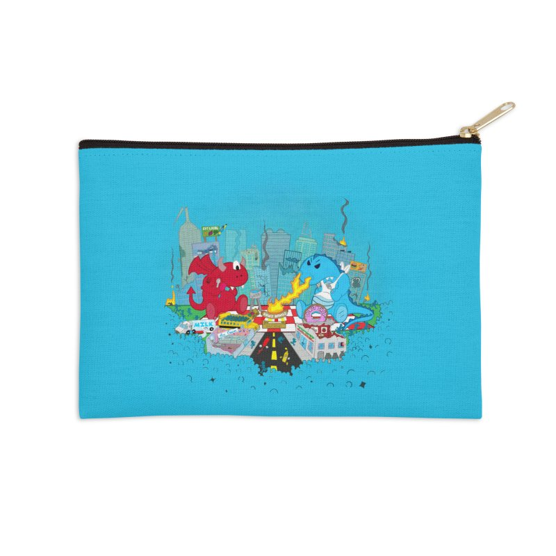 Monster Picnic Accessories Zip Pouch by Dannomyte's Artist Shop