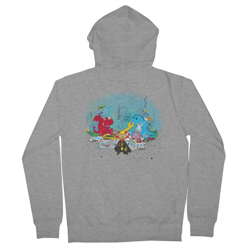 Monster Picnic Men's Zip-Up Hoody by Dannomyte's Artist Shop