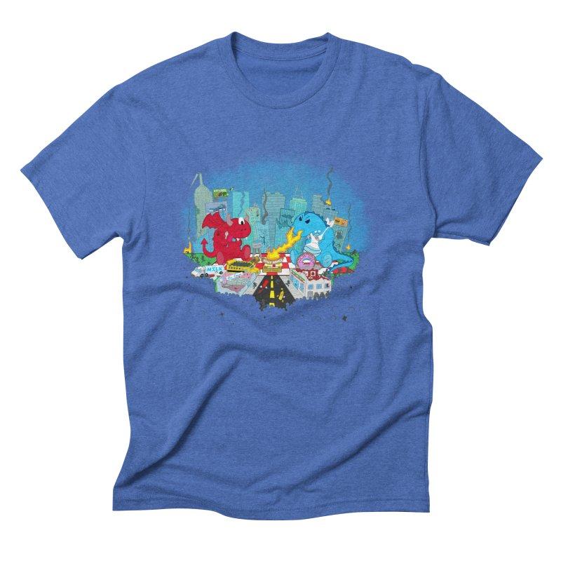 Monster Picnic Men's Triblend T-shirt by Dannomyte's Artist Shop