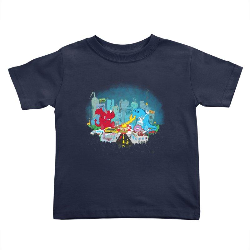 Monster Picnic Kids Toddler T-Shirt by Dannomyte's Artist Shop