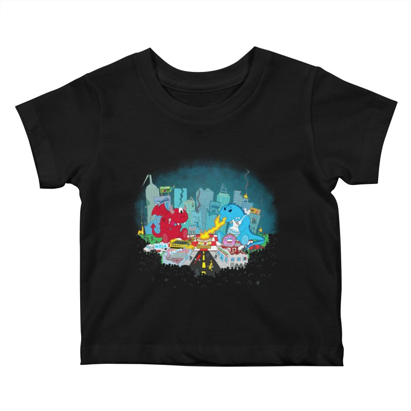 Monster Picnic Kids Baby T-Shirt by Dannomyte's Artist Shop