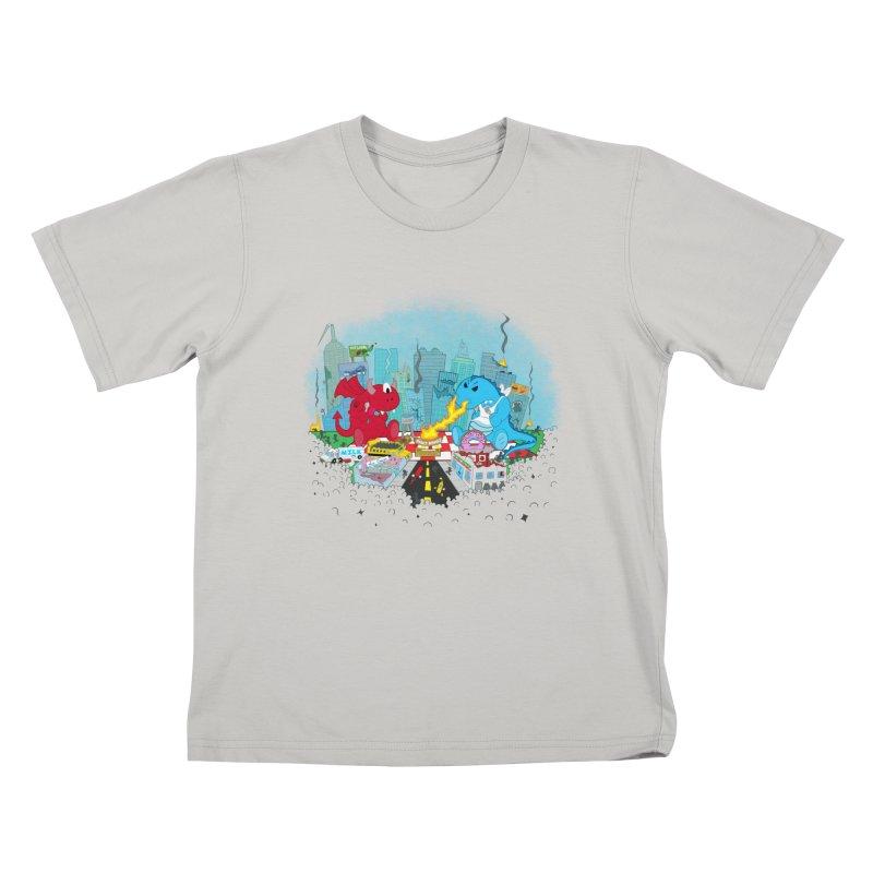 Monster Picnic Kids T-shirt by Dannomyte's Artist Shop