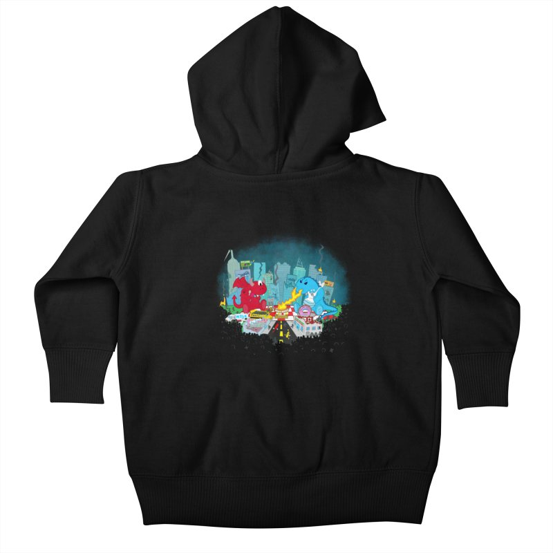 Monster Picnic Kids Baby Zip-Up Hoody by Dannomyte's Artist Shop
