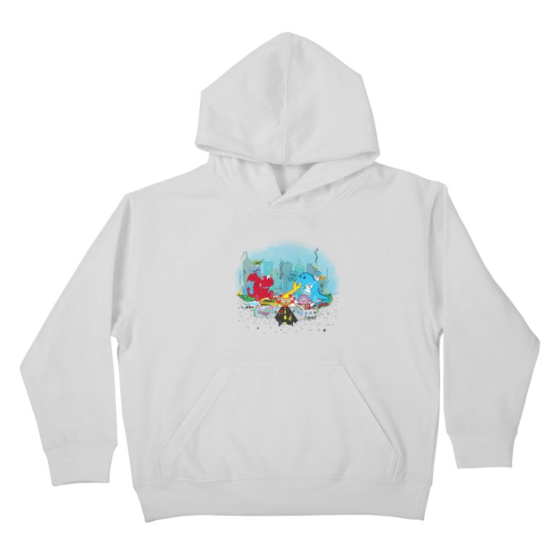 Monster Picnic Kids Pullover Hoody by Dannomyte's Artist Shop