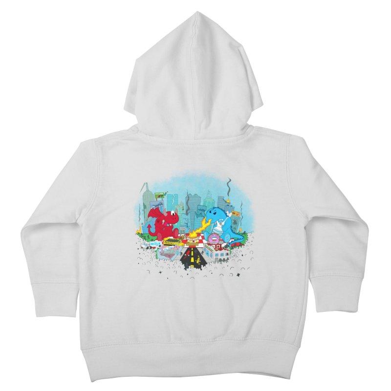 Monster Picnic Kids Toddler Zip-Up Hoody by Dannomyte's Artist Shop