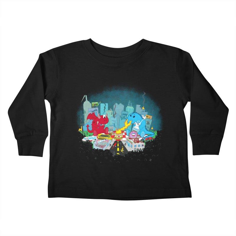 Monster Picnic Kids Toddler Longsleeve T-Shirt by Dannomyte's Artist Shop